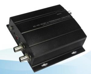 China SD/HD/3G-SDI to HDMI & VGA & AV Converter, 1 SDI input, 1 HDMI+1 VGA+1 AV output, 5V~24VDC on sale
