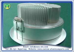 China Aluminum Lamp Shade Anodize Aluminum Service With All Kinds Of Watts on sale