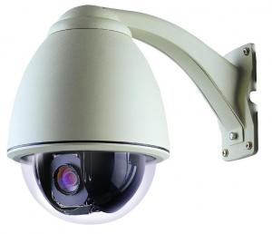 China Analog PTZ OSD RS-485 HD CCTV Dome Camera Pan Tilt Zoom , Pelco-D / P supplier