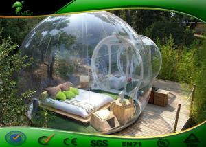 China Clear Inflatable Bubble Tent , TPU Inflatable Bubble Outdoor Camping Tent on sale