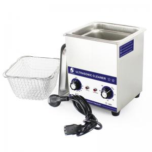 China Benchtop Mechanical Ultrasonic Cleaner For Jewelry / Diamond shop on sale