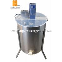 120V USA hot sale 4  frames electrical honey bee extractor tangential extractor