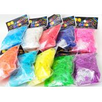 Family Silicone DIY Colourfull Rainbow Loom Bands Rainbow Colorful Loom Rubber Bands
