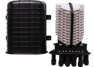 China Dome Type Fiber Optic Joint Box PC Plastic 144 Core Optical Fiber Closure on sale