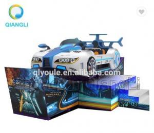 China Mini Carnival Rides Funfair Game Flying Car Happy Racing Car Steel Installation on sale