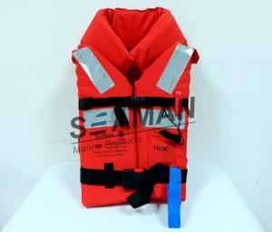 China Polyester Oxford Cloth EPE Foam 150N Marine Adult Life Jacket Offshore Life Jacket on sale