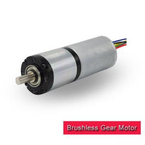 China 50kg.Cm 12v DC Gear Motor High Torque Home Appliance With Brake Function on sale