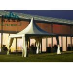 Portable 6x6M Pagoda Canopy Tent High Peak 15 Years Warranty With Indoor Decorations