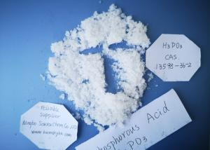 China Reducing Agent H3O3P Phosphorous Acid 98.5% Purity Colorless Crystal CAS 13598 36 2 on sale