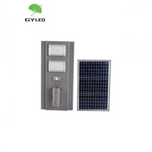 China RoHS IP65 Solar Powered Led Pole Lights With Remote Controller on sale