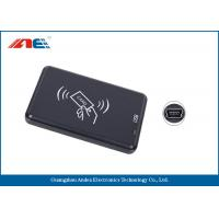 Small Type Contactless RFID Reader Writer, High Frequency USB Reader Writer