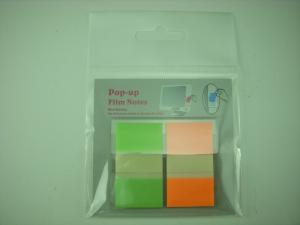 pocket memo pad printable 2 colors adhesive block pop up sticky