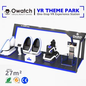 China Entertainment project design vr equipment Coin System VR theme park ride on sale