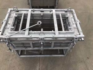 China aluminum block cooler box mold, rotational molding cooler box mould on sale