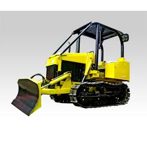 Mini track tractor w/ Canopy with six-action blade Crawler