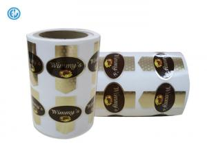 China High Security Printed Self Adhesive Labels For Product Decoration Adhesive Barcode Labels on sale