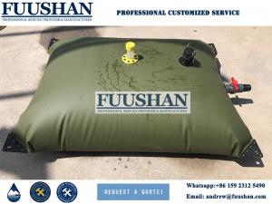 China Fuushan Best quality collapsible water bladder pvc aquaculture water tanks collapsible bladder Tanks on sale