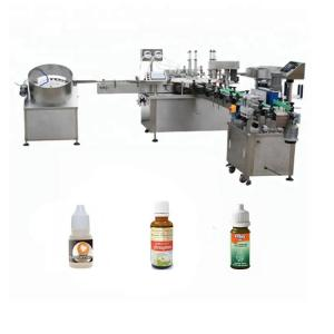 China High Speed Essential Oil Filling Machine Suction / Anti - Drip Device Available on sale