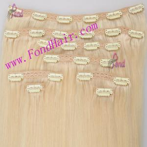 China 100% Virgiin Remy Hair Cilp In Hair Extension on sale