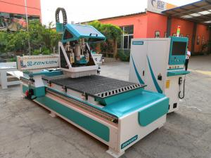 China Delta Inverter Cnc Wood Carving Machine With 9kw HQD ATC Air Cooling Spindle on sale