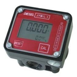 China High Accuracy Electronic Fuel Oil Mini Flow Meter Oval Gear With LCD Display on sale