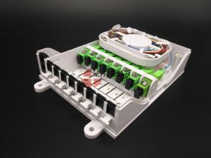 China Indoor 8 Ports CPE Fiber Optic Distribution Terminated Cable Joint Box Wall Mounted on sale