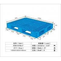 HDPE / PP Standard Recycled Plastic Pallets Temporary Mobile Platforms 1250*1000*150mm
