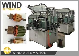 China Conventional Commutator Armature Coil Winding Machine Dual Flyer For Slot Com Rotor on sale
