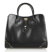 China Unique Famous Designer Bag Vogue Bag Lady Tote Leather Bags Made Of Smooth Calf Skin on sale