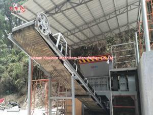 China ISO Household Garbage Shredder Heavy Double Shaft Copper Wire Shredder on sale