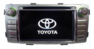 China 6.2 Inch Toyota Hilux 2012 Car Dvd Player / Mmc / Fm / Navigation System Stereo / -Cr-8903 on sale
