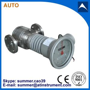 China Oval Gear Positive Displacement type Crude Oil Flow meter mechanical type with low cost on sale