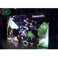 P4.81 indoor usage iron 1000 x1000mm standard cabinet full color smd led screen for fixing usage