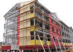 Prefabricated multi-storey steel frame office / modern design steel structure building