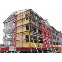 China Modern Type Steel Structure Office , Multi Storey Steel Frame Office Building on sale