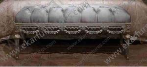 China Italian Furniture Prices Antique Bedroom Bench Stools FU-133 on sale