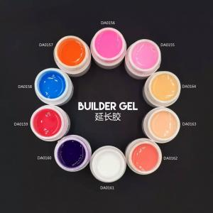 China soak off clear uv builder gel soak off transparent builder gel very clear builder gel supplier