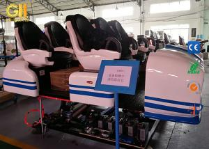 China Small Business Ideas 9D Reality Simulator 6 Seats 6 Players / 3.1*2.2*1.7m Size on sale
