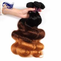 China Peruvian Multi Color Hair Extensions Clips Full Ends Double Drawn on sale