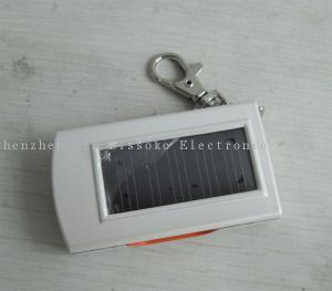 China 3 LED Solar Powered Flashlight on sale