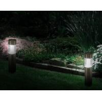 China Stainless Steel Led Bollard Lights With Glass Lens Contemporary Bollard Lighting on sale