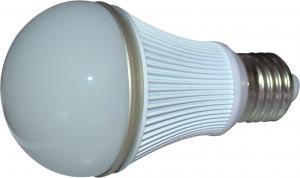 China AC 220V 5W E27 LED Light Bulbs 380 Lumens 145° With Aluminum Housing on sale