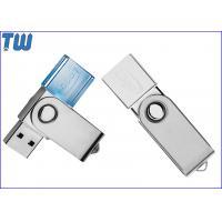 Swivel Crystal 4GB Pendrive Flash Disk USB Device Multi LED Light