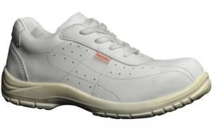 China White Color Safety Dust Free Shoes High Performance OEM / ODM Accept on sale