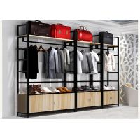 Easy Install Clothes Shop Display Shelving 35kg / Layer Loading Capacity