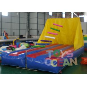 China Jacob's Ladder Interactive Inflatable Climbing Game 6x3m For Single Player on sale