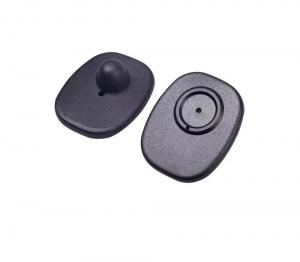 China EAS System 8.2MHz RF Mini Square Magnetic Hard Tag for Anti-theft on sale