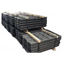 Mining Machinery Fixed Jaw Crusher Jaw Plate PE250 * 400 High Manganese Steel