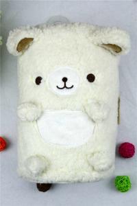 China Bath / Beach Cotton Baby Hooded Towel , Baby Apron Bath Towel Cute Shape on sale