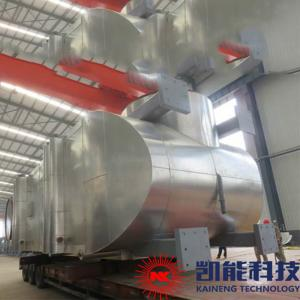 China Whrb Generator Set Waste Heat Boiler 0.5MPa ~ 2.45Mpa Working Pressure on sale